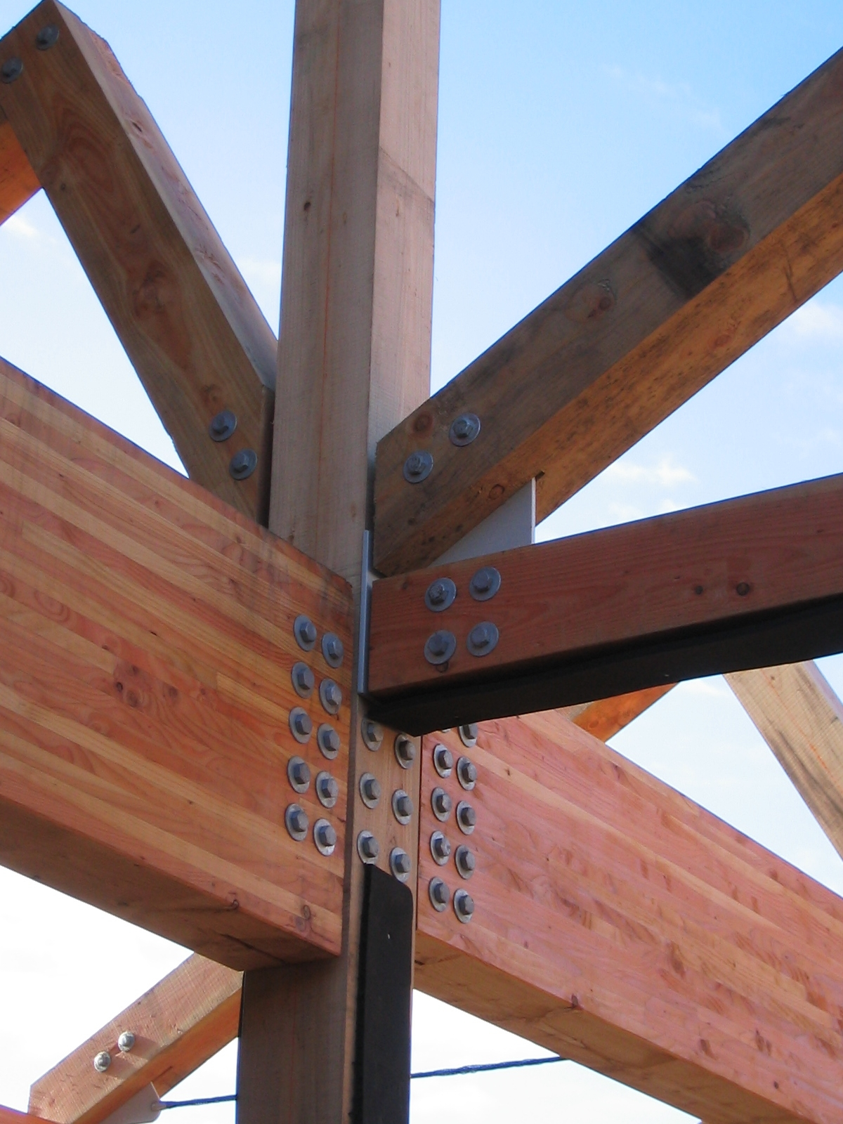 After parliament building lauder college s ecospace for Architectural beams