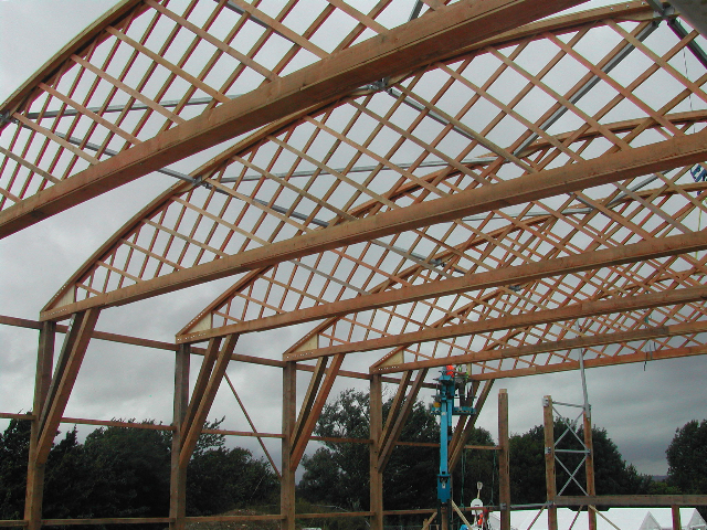 Hands On Learning Revives A Forgotten Timber Classic Wynstones School Belfast Truss New Hall Project