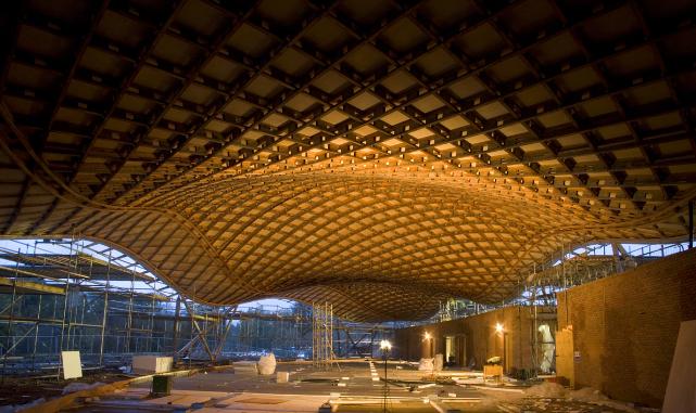 The Savill Gardens Gridshell Glen Howells Architects