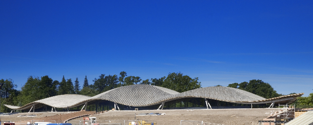 The Savill Gardens Gridshell Glen Howells Architects
