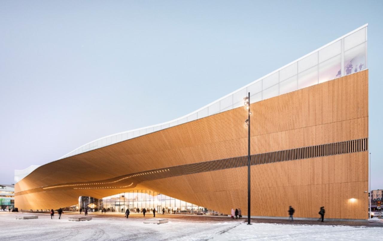 Helsinki Library – Photo ALA Architects